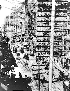 New York Telephone Wiring - Prior to the 1887 blizzard